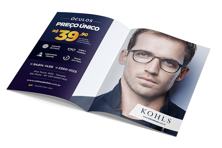 Anúncio em Revista Kohls